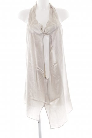 Zara Woman Top senza maniche crema stile stravagante