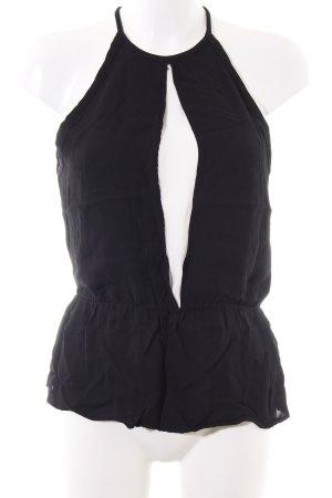 Zara Woman Top estilo halter negro look casual