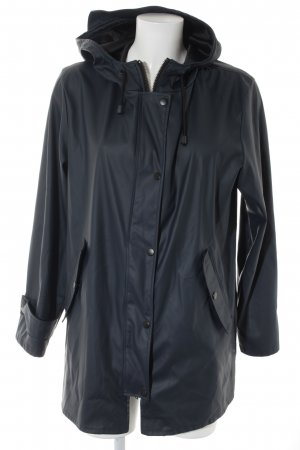 Zara Woman Outdoorjacke dunkelblau Street-Fashion-Look