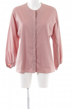 Zara Woman Oversized Bluse pink Business-Look