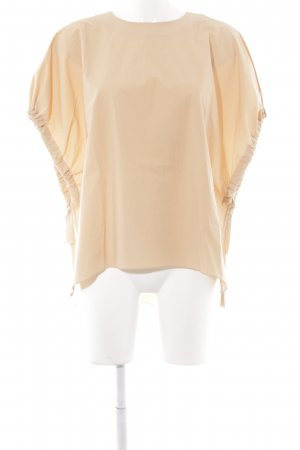 Zara Woman Oversized Bluse apricot minimalistischer Stil