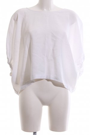 Zara Woman Top extra-large blanc style décontracté