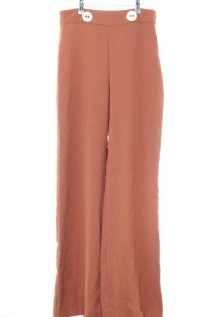 Zara Woman Pantalon palazzo rose chair style d'affaires