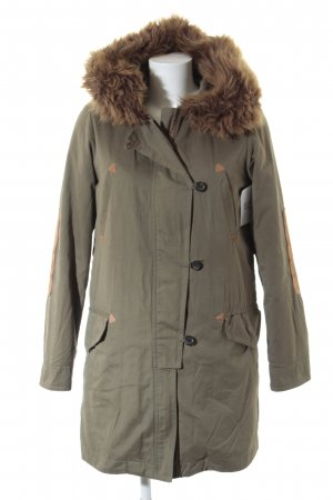 Zara Woman Parka khaki Casual-Look