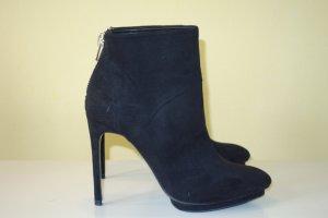ZARA Woman Plateau Ankle Booties schwarz Gr.40