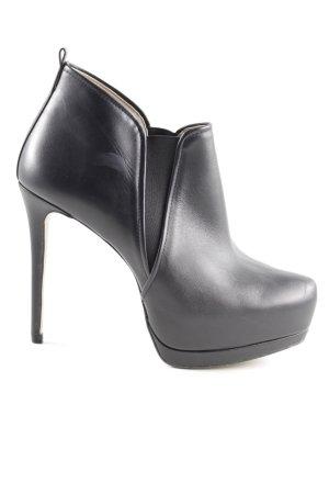 Zara Woman Plateau-Stiefeletten schwarz extravaganter Stil