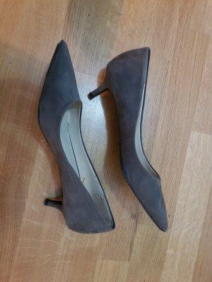 Zara Tacones gris