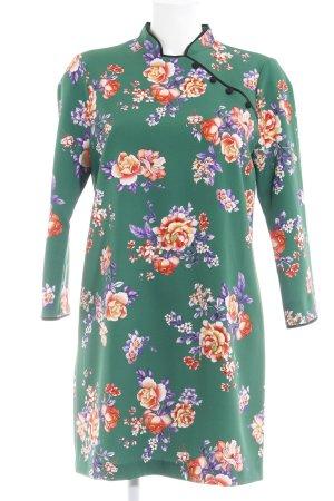 Zara Woman Qipao florales Muster klassischer Stil