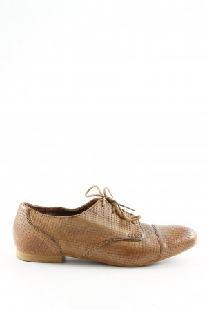 Zara Woman Richelieu-schoenen bruin casual uitstraling