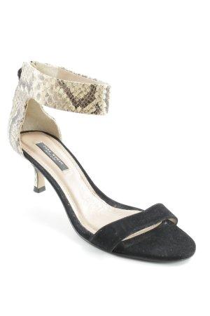 Zara Woman Riemchen-Sandaletten Leomuster Elegant