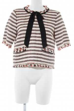 Zara Woman Ringelshirt Ringelmuster Country-Look
