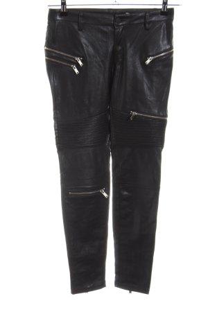 Zara Woman Pantalone a sigaretta nero stile casual