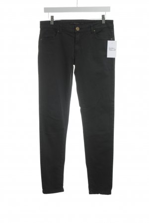 Zara Woman Röhrenhose anthrazit Casual-Look