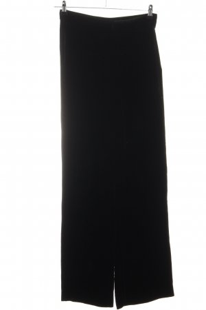 Zara Woman Schlaghose schwarz Business-Look