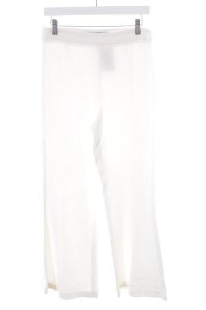 Zara Woman Schlaghose weiß Elegant