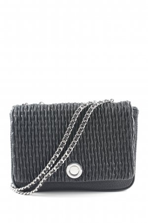 Zara Woman Sac porté épaule noir style décontracté