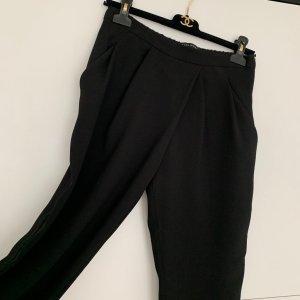 Zara Woman Pantalón abombado negro