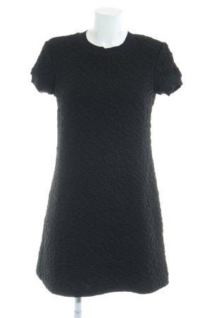 Zara Woman Shirtkleid schwarz Casual-Look
