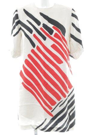 Zara Woman Shirtkleid Streifenmuster Elegant