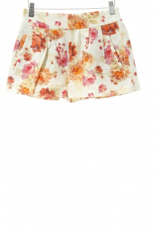Zara Woman Shorts mehrfarbig Casual-Look