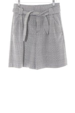 Zara Woman Shorts schwarz-weiß Hahnentrittmuster klassischer Stil