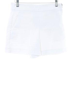 Zara Woman Shorts bianco elegante