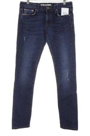Zara Woman Skinny Jeans blau schlichter Stil
