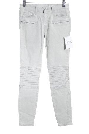 Zara Woman Skinny Jeans hellgrau schlichter Stil