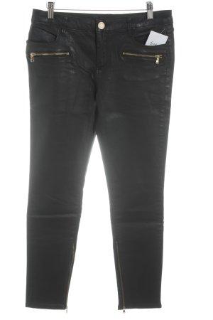 Zara Woman Skinny Jeans schwarz Casual-Look