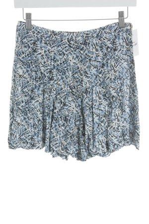Zara Woman Skorts abstraktes Muster Skater-Look