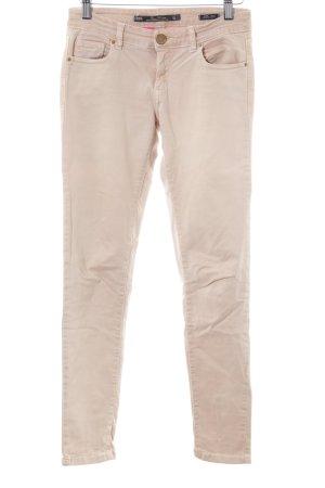 Zara Woman Slim Jeans mehrfarbig Business-Look