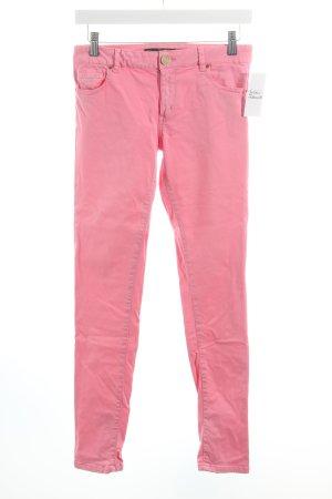 Zara Woman Slim Jeans rosa schlichter Stil