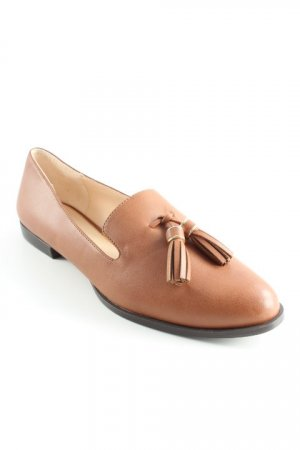 Zara Woman Slipper cognac Business-Look