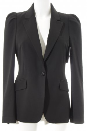 Zara Woman Smoking-Blazer schwarz Business-Look