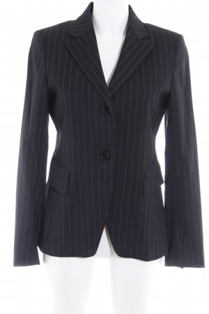 Zara Woman Smoking-Blazer schwarz Nadelstreifen Business-Look