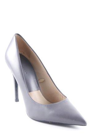 Zara Woman Spitz-Pumps grau Elegant