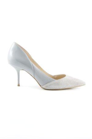 Zara Woman Spitz-Pumps hellgrau Elegant