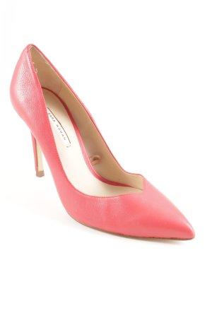 Zara Woman Spitz-Pumps hellrot Business-Look