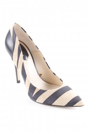 Zara Woman Spitz-Pumps sandbraun-schwarz Animalmuster Animal-Look