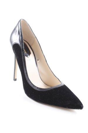 Zara Woman Spitz-Pumps schwarz Elegant