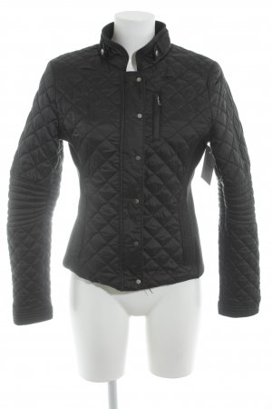 Zara Woman Steppjacke schwarz Steppmuster Casual-Look