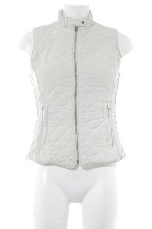Zara Woman Steppweste creme Casual-Look