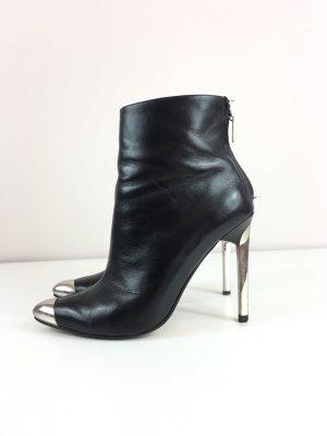 ZARA Woman Stiefeletten Boots Halbstiefel Gr. 38 schwarz