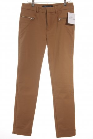 Zara Woman Stoffhose beige Casual-Look