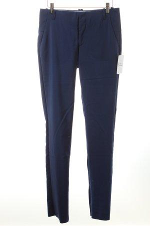 Zara Woman Stoffhose blau Business-Look