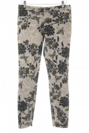Zara Woman Stoffhose florales Muster Street-Fashion-Look