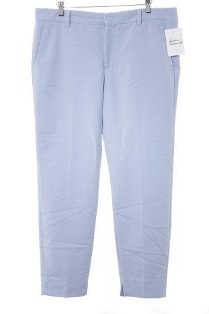 Zara Woman Stoffhose himmelblau Casual-Look