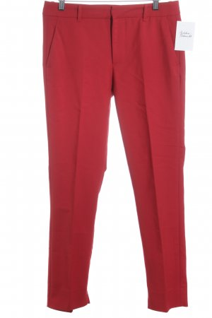 Zara Woman Stoffhose rot Street-Fashion-Look