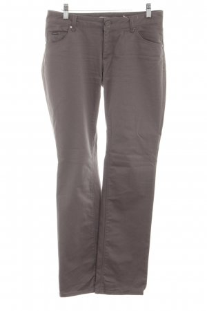 Zara Woman Straight-Leg Jeans bronzefarben Casual-Look
