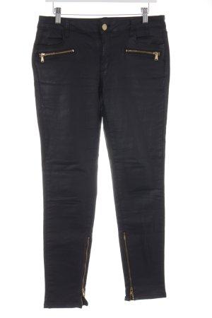 Zara Woman Stretchhose schwarz Rockabilly-Look